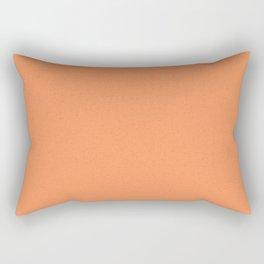 Atomic Tangerine Rectangular Pillow