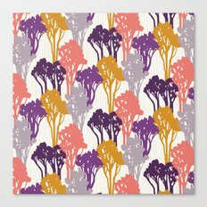 Arboreal Silhouettes Canvas Print