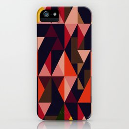 Vintage vibes_in warm hues iPhone Case