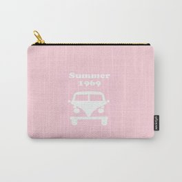 Summer 1969 -  pink Carry-All Pouch