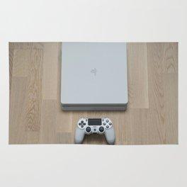 Sony PlayStation 4 Slim Glacier White gaming console Rug
