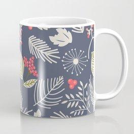 Winter berry pattern Coffee Mug