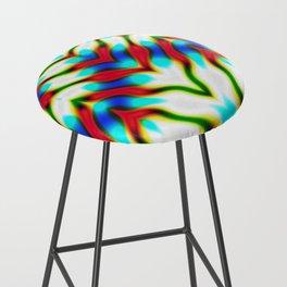 Hippie Rainbows | Colourful Hippie Love Bar Stool
