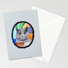 KITTY / GREY Stationery Cards