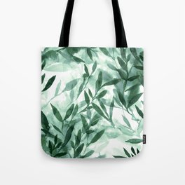 Changes Hunter Green Tote Bag