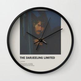 Darjeeling Limited Minimal Movie Poster No 03 Wall Clock