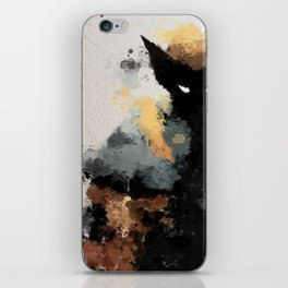 Wolvie Water Colour iPhone Skin