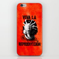 che iPhone & iPod Skins featuring CHE-HUGGER by BeastWreck