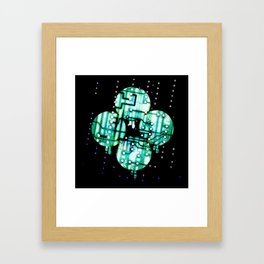 The Rain Framed Art Print