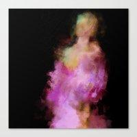 lavender Canvas Prints featuring Lavender by Dnzsea