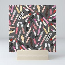 Lipstick Party - Dark Mini Art Print