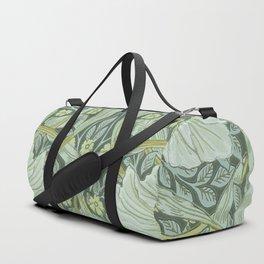 William Morris, Art nouveau pattern, beautiful art work, fabric pattern, belle époque,victorian,flor Duffle Bag