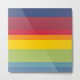 01 Rainbow Metal Print
