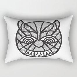 The Devil may care Rectangular Pillow