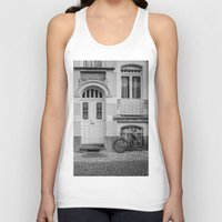 house Tank Tops featuring House by Laura Arroyo