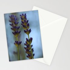 Lavender spikes Stationery Cards