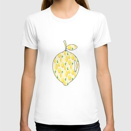 lemons within lemon T-shirt
