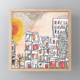 Autumn in New York Framed Mini Art Print