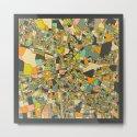 LUSAKA MAP by jazzberryblue