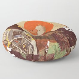 Archival World Floor Pillow