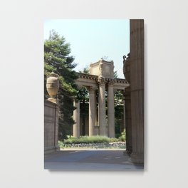 Palace Fine Arts Pillars And Urn Metal Print