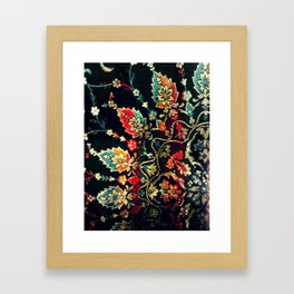 Textile Pattern Framed Art Print