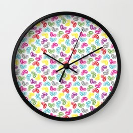 little heart Wall Clock