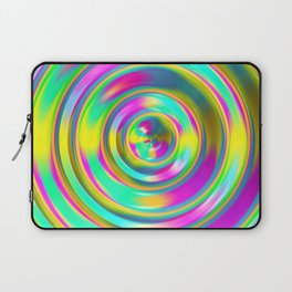 Pastel Swirl Laptop Sleeve