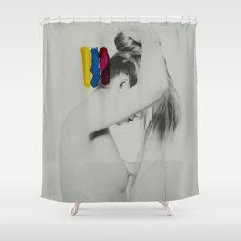 Retrograde Shower Curtain