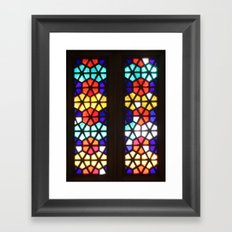 Stained in Ukraine Framed Art Print