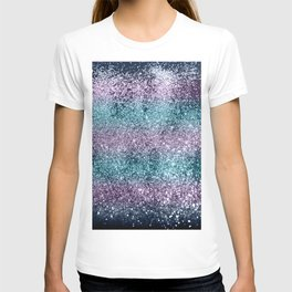Mermaid Girls Glitter #8 #shiny #decor #art #society6 T-shirt