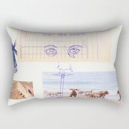 to be soft Rectangular Pillow