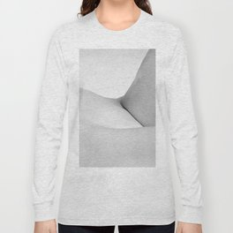Abstract woman nude bodyscape Long Sleeve T-shirt