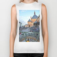 bicycles Biker Tanks featuring bicycles by  Agostino Lo Coco