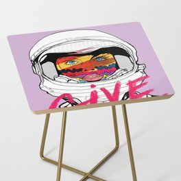 Give a Fuck Side Table