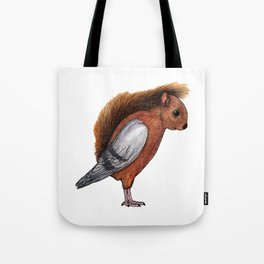 Squigeon Tote Bag