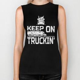 Keep On Truckin' Biker Tank