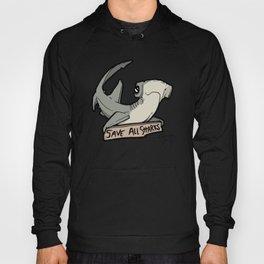 Save All Sharks (says Bonnie!) Hoody