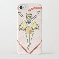 sailor venus iPhone & iPod Cases featuring Sailor Venus by Vickie V. Illustration