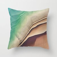 dune Throw Pillows featuring Dune by Jellyfishtimes