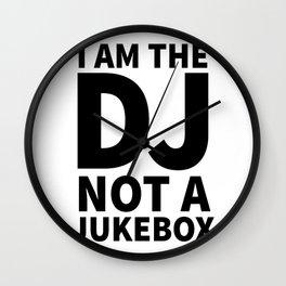 I'm the DJ! Wall Clock