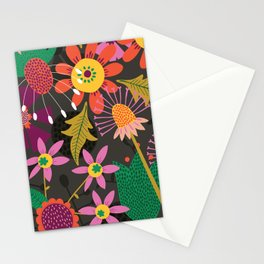 Jungle Flowers Stationery Cards
