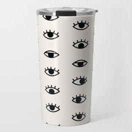 Eye Chart Travel Mug
