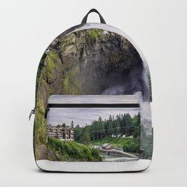 Snoqualmie Falls, Washington Backpack