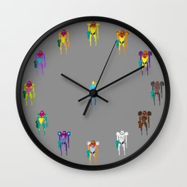 Team Samus Wall Clock