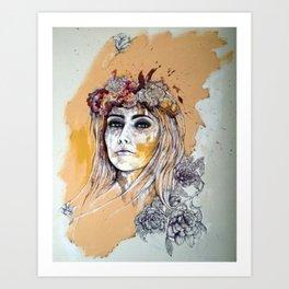 female model Art Print