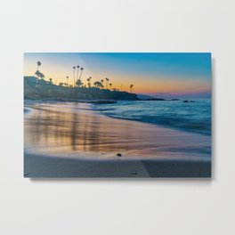 Copper Sands Metal Print