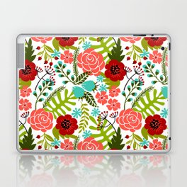 Flower Pattern II Laptop & iPad Skin