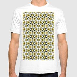 Tech Shapes Yellow T-shirt