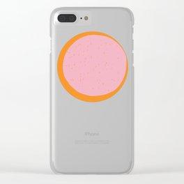 Eclipse 002 Clear iPhone Case